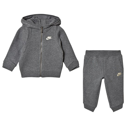 NIKE Grey Hoodie and Sweatpants Set GEH
