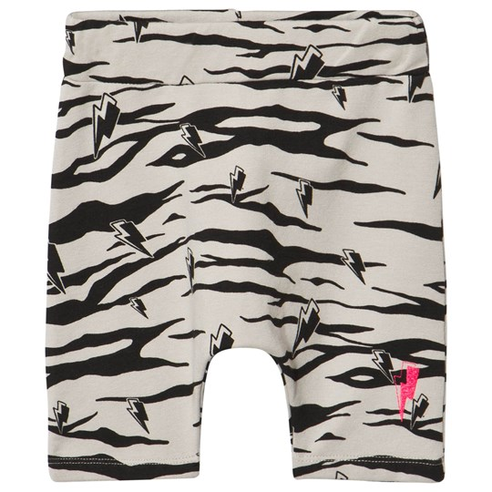 Scamp & Dude Lucky Tiger Cool Kid Shorts Grey Sort