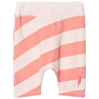 Scamp & Dude Pink and Peach Stripe Lucky Shorts CORAL AND BLUSH