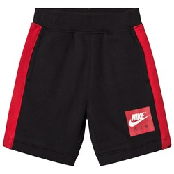 NIKE Red and Black Air Sweat Shorts