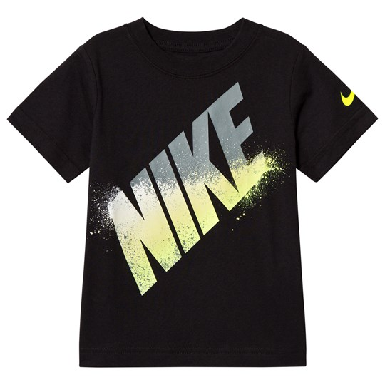NIKE Black Block Spray Branded Tee 023