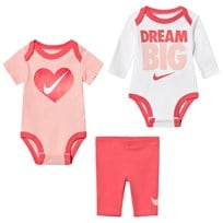 NIKE Pink Leggings and 2 Bodies Set A6C