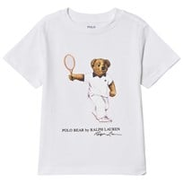 Ralph Lauren Tennis Bear Cotton T-Shirt White 001
