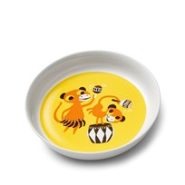Littlephant Porcelain Plate Bongoparty Yellow Yellow