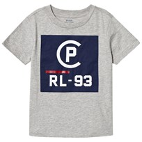 Ralph Lauren Cruise Grey Logo Tee 001
