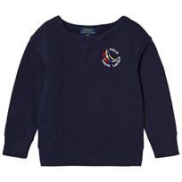 Ralph Lauren Navy Regatta Ship Logo Sweatshirt 002