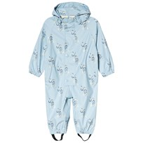 Mini A Ture Reinis M Printed Rain Coverall Blue Angel Falls Blue Angel Falls