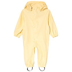 Mini A Ture Reinis M Rain Coverall Pale Banana