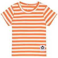 Mini Rodini Randig Ribbad T-shirt Orange Orange