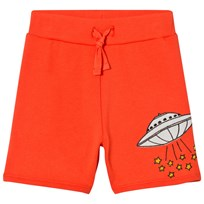 Mini Rodini UFO Mjukis Shorts Röd Red
