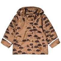 Mini Rodini Edelweiss Mouse Jacket Brown BROWN