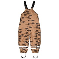 Mini Rodini Edelweiss Mouse Pants Brown BROWN