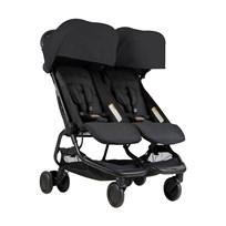 Mountain Buggy Nano Duo Stroller Black 2018 Black