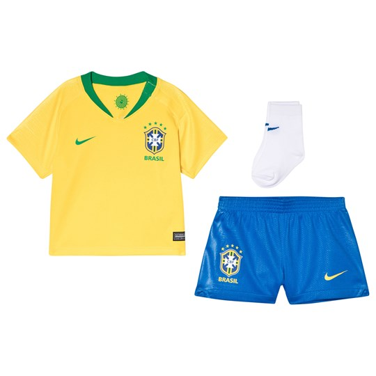 Brazilian Football Confederation Nike Breathe Brazil CBF Home Infants Kit 749