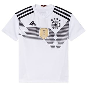 Image of Germany National Football Team Germany 2018 World Cup Home Replica Jersey 11-12 Years (3017744161)