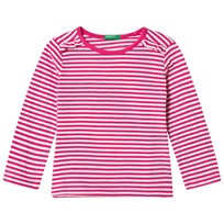 United Colors of Benetton Long Sleeve T-Shirt Pink Pink