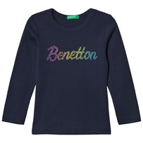 United Colors of Benetton Long Sleeve T-Shirt Navy Navy
