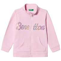 United Colors of Benetton Branded Tröja Candy Pink Candy Pink