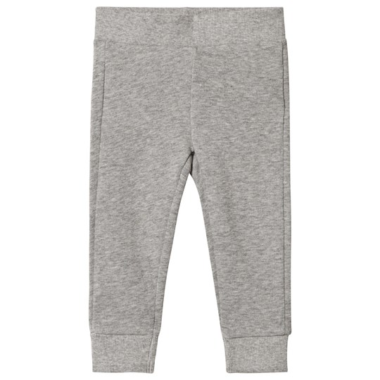 United Colors of Benetton Trousers Grey Melange Grey Melange