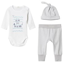 United Colors of Benetton Layette Set Beige Beige