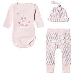 United Colors of Benetton Layette Set Pink