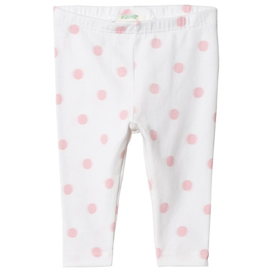 United Colors of Benetton Prickiga Strumbyxor Vit/Rosa White