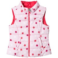 United Colors of Benetton Reversible Waistcoat Pink Pink