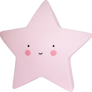 Image of A Little Lovely Company Mini Star Night Light Pink (3018356847)