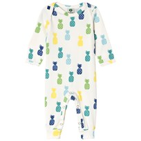 Småfolk Cream Pineapple Print One-Piece 714