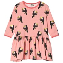 Småfolk Pale Pink Toucan Dress 513