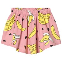 Småfolk Pale Pink Banana Print Skirt 502
