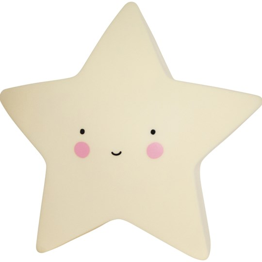 A Little Lovely Company Mini Star Night Light Yellow Multi