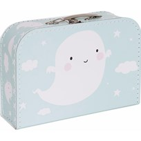 A Little Lovely Company Ghost Suitcase Multi