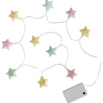 A Little Lovely Company Star String Lights пестрый