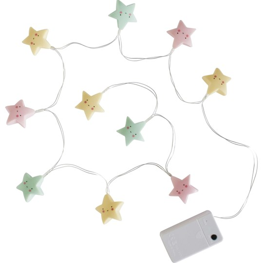 A Little Lovely Company Star String Lights Multi