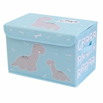 A Little Lovely Company Pop-Up Storage Box Brontosaurus Black