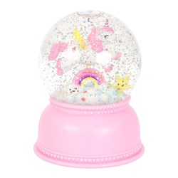 A Little Lovely Company Unicorn Snow Globe