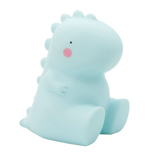A Little Lovely Company T-Rex Table Light Blue