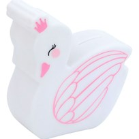 A Little Lovely Company Swan Money Box White