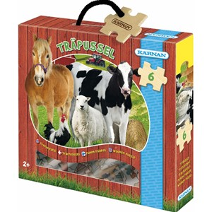 Image of Egmont Kärnan On The Farm Wood Puzzle 24+ months (847114)