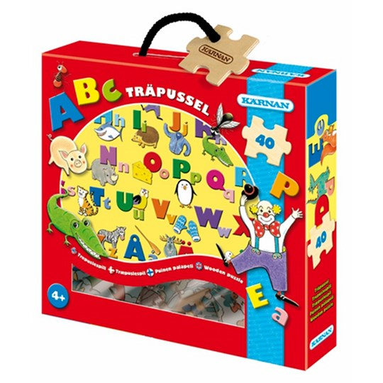 Egmont Kärnan ABC Wood Puzzle Multi