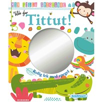 Egmont Kärnan Wild Animals Mirror Book White