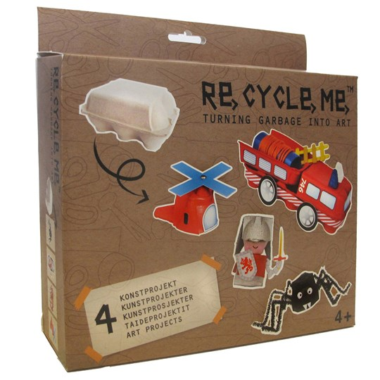 Re-Cycle-Me Egg Box BROWN