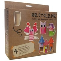 Re-Cycle-Me Toilet Roll Box 2 BROWN