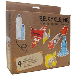 Image of Re-Cycle-Me PET Bottle Box 4 - 10 years (3018743711)