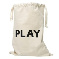 Tellkiddo Play Fabric Bag Off Whie / Natural