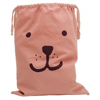 Tellkiddo Bear Fabric Bag Dusty Pink Dusty Pink