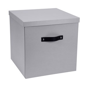 Image of Bigso Box of Sweden Texas Storage Box Silver Grey (3018746861)