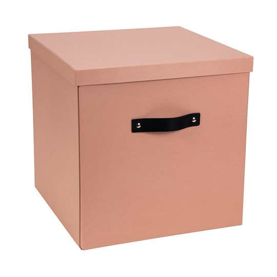 Bigso Box of Sweden Texas Storage Box Dusty Pink 521 Dusty Pink