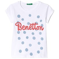 United Colors of Benetton Printed T-Shirt White White